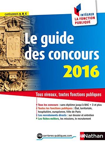 Le guide des concours 2016