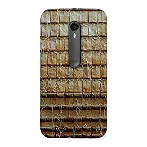 Enticing Old Wall Back Case Cover for Moto G Turbo