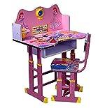 #8: Iris Princess Kids Table and Chair Study Set (Pink)