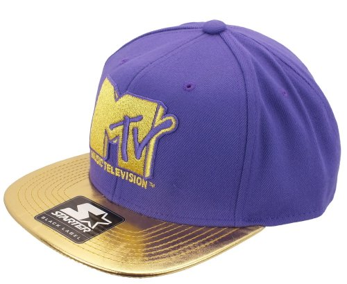 mtv-starter-snapback-mt008-metal-icon-purple-gold-grentabelle-one-size-fitts-all