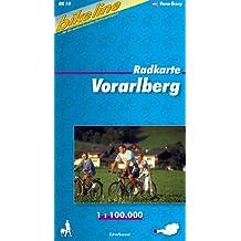 Voralberg Cycle Map: BIKEK.A10