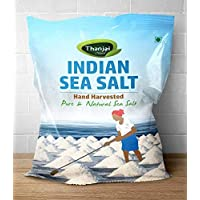 Thanjai Natural's 1kg Non-iodised Indian Natural Sea Salt 100% Natural for Healthy Cooking - 1kg