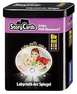 KOSMOS 688035 - Story Cards - Die drei !!! Labyrinth der Spiegel (B01MZ6SC7U) | Amazon Products