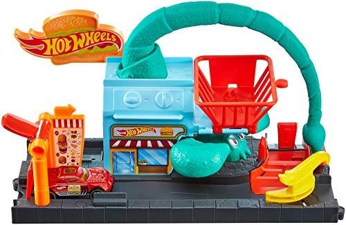 Hot Wheels El Ataque del Escorpión, pista de coches de juguete (Mattel FNP62)