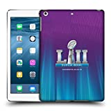 Official NFL Northern Lights Glow 2 2018 Super Bowl LII Hard Back Case for iPad Air (2013)