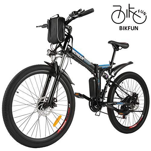 BIKFUN Vélo de Montagne Pliable pour vélo électrique,...