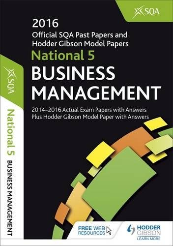 sqa past papers business management