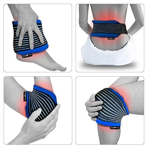Deluxe Reusable Hot and Cold Gel Pack with Compress Wrap for Fast Pain Relief by Gelpacksdirect Test
