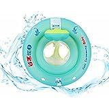 Libre natación bebé diseño de bebé asiento barco flotador inflable con antivuelco redondo