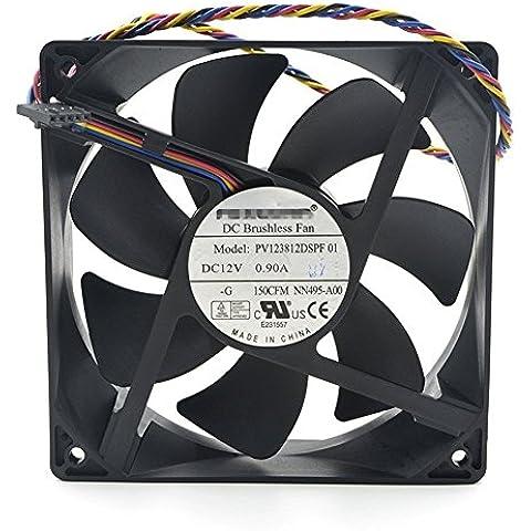 Generic nuevo caso ventilador pv123812dspf para Dell Dimensión 3100, 5100, 5150, E520, E52nn495Optiplex 210L 320330360380520620740745755760
