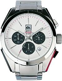 Quiksilver M137CF/ASIL - Reloj de caballero de cuarzo, correa de acero inoxidable color plata