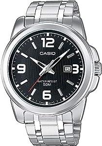 Casio Reloj Analógico para Hombre de Cuarzo con Correa en Acero Inoxidable MTP-1314PD-1AVEF de Casio