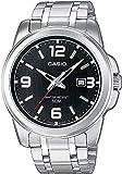 Casio Reloj Analógico para Hombre de Cuarzo con Correa en Acero Inoxidable MTP-1314PD-1AVEF