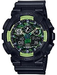 G-Shock GA-100deportivo, Series Relojes, Color negro/Talla única