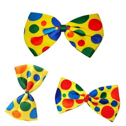 Takestop® set 4 pezzi papillon piccoli pois pagliaccio clown scherzo travestimento carnevale animazione baby halloween party festa