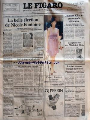 FIGARO (LE) [No 17087] du 21/07/1999 - L...