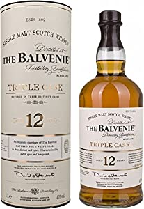 Balvenie 12 Year Old Triple Cask Single Malt Scotch Whisky 100 cl by Balvenie
