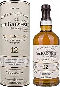 Balvenie 12 Year Old Triple Cask Single Malt Scotch Whisky 100 cl by Balvenie