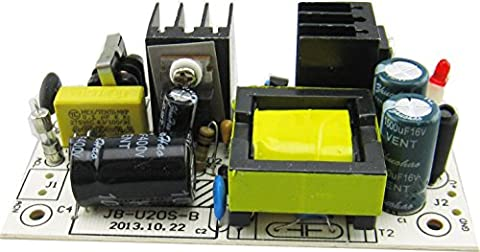 Kissing U AC 85-265V DC 12V 2A Step Down Buck Converter Switching Power Supply Module Avec Filtre EMI Circuit Board de Tension Constante Intégrée Industrial Power