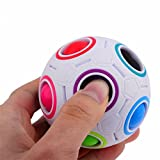 FEITONG 2017 Pop Rainbow Magic Ball Plastic Cube Twist Puzzle Toys For Children