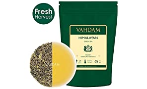 VAHDAM Organic Anti-oxidant Loose Green Tea Leaves to Cleanse and for Weight Loss (100g, 50 Cups)