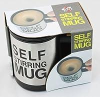 Tiru Self Stirring Mug with Lid for Coffee Tea Juices Shakes Cup