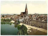 Photo General view Schwerin Mecklenburg Schwerin A4 10x8