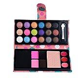 Die besten Blush Palettes - 26Colors Make-up Palette Kosmetik Lidschatten Blush Lip Gloss Bewertungen
