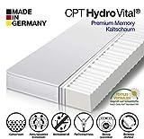 HydroVital-Spa 7 Zonen Comfort Kaltschaummatratze - Härtegrad H2 & H3-10 Jahre GARANTIE - Made in Germany (140 x 200 x 12 cm - 7 Zonen, H3)