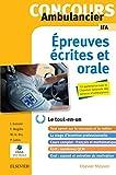 Concours Ambulancier - Écrit et oral - IFA: Le tout-en-un