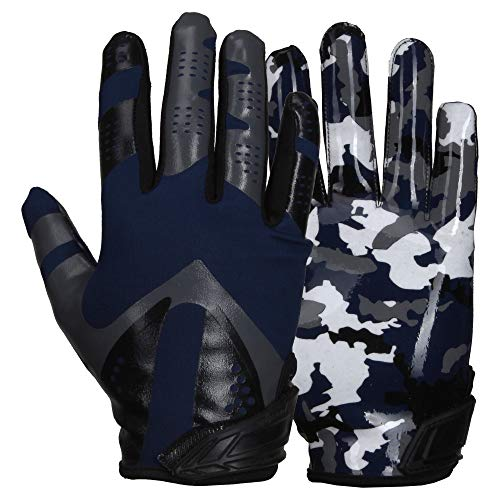 Prostyle Sniper American Football Receiver Handschuhe - Navy Gr. XL