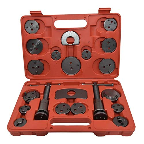 CCF-OZ 21PCS Universal-Bremssattel Kolben Rewind Set Wind Zurück Repair Tool Kit for Auto-Reparatur Automobiles Zubehör for Brake Pad Replacement (Model Number : BCT08)