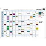 Exacompta Jahresplaner mit ewigem Kalender magnethaftend abwischbar mit Zubehör 900 x 590 mm