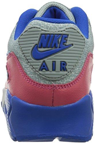 Nike Wmns Air Max 90, Scarpe sportive, Donna Grigio (Grau (Grau / Magenta / Blau))