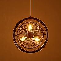 Retro Modern Style Kronleuchter Deckenleuchte Antik Kronleuchter Fan Bar  Kronleuchter Deckenventilator Licht Industrial Scenery Light Eisen