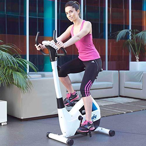 Ion Fitness FI100 bicleta Spining - Bicicletas para Spinning (500 mm, 920 mm, 1340 mm, 25 kg, 7 kg, LCD)