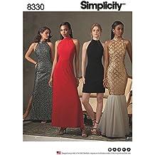 Simplicity Pattern 12 – 14 – 16 – 18 – Patrones de Costura para Vestidos  patrón ecb4163a32189