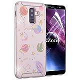 OKZone Galaxy A6 Plus 2018 Case, [Star Sky Series] Luxury