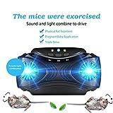 JHDAO Attrezzature vermifugo Multi-Funzione Esterna Portatile USB ultrasuoni zanzara Repeller Insetto Olio Essenziale Suono e Luce combinata Pest Reject
