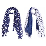 #6: Ziva Fashion Printed cotton poly Women's Scarf, Stole