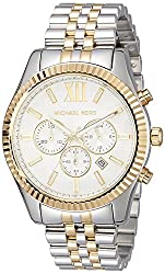 Michael Kors Analog White Dial Mens Watch - MK8344I