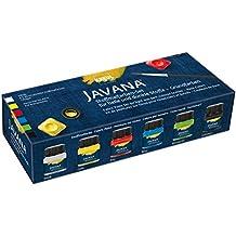 Javana 90598 - Colori per stoffa Opak Creativ Basic-Set, 6 x 20 ml