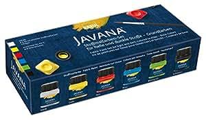 Javana 90598 - Textil Stoffmalfarben Opak Creativ Basic-Set 6 x 20 ml