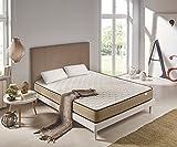 Materasso Memory Foam Viscoelastico Bamboo Confort 150x190cm + Cuscino Memory Foam Green Soia 150cm OMAGGIO