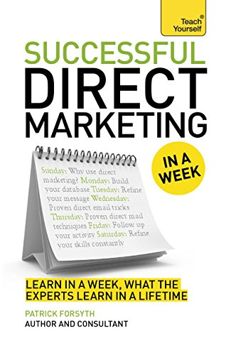 Successful Direct Marketing in a Week: Teach Yourself eBook ePub ...