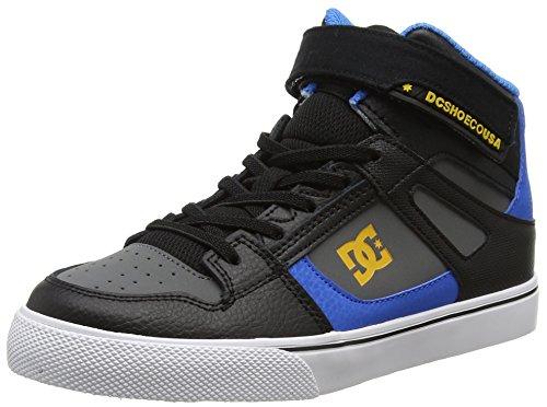 DC Shoes Jungen Spartan High Ev Sneaker Schwarz (black/blue/grey)