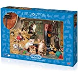 Gibsons Discoveries Kitten Capers Jigsaw Puzzle 1000 Pieces
