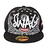 ILU Swagg Black Cap For Kids /Snapback c...