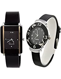 Rjcreation Quartz Analog Girl's and Women's Watch Combo - Pack of 2 Watch