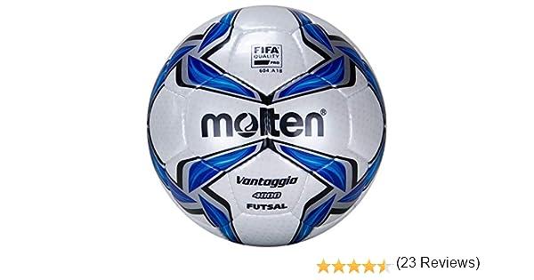 4 Wei/ß//Blau//Silber Pallone da calcio molten Bianco